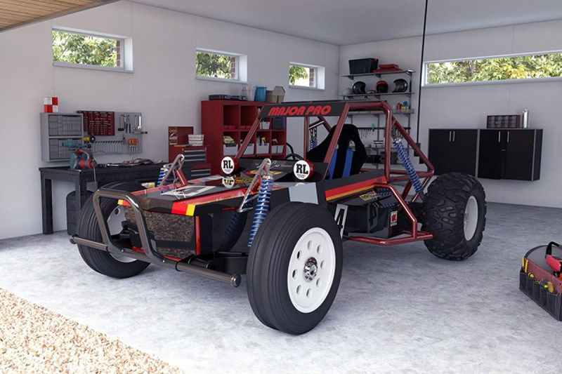 The Little Car Company Has Re-Created a Tamiya RC Car You Can Drive