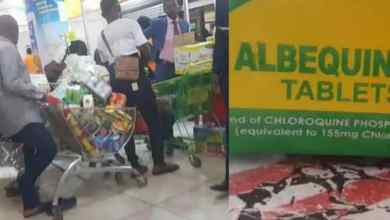 Photo of OMG! Abuja Residents Flood Pharmacies In Search Of Chloroquine To Prevent Coronavirus