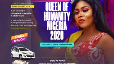 Photo of QUEEN OF HUMANITY NIGERIA BEAUTY PAGEANT 2020