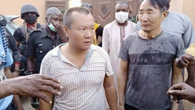 Photo of Police Arrest Two Chinese Men For Illegal Mining In Zamfara During Lockdown