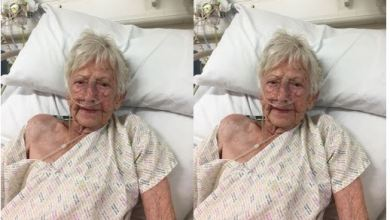 Photo of 89-YEAR-OLD GRANDMOTHER WHO BEAT BREAST CANCER, CANCER OF THE WOMB, SKIN CANCER AND ALSO DEFEATS CORONAVIRUS
