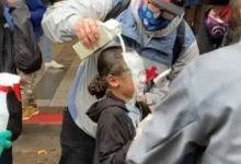 Photo of Seattle Cop peppersprayed a Nine-year-old Kid