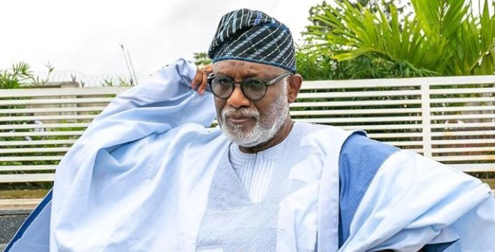 Ondo state governor Akeredolu tests positive for Covid-19.  Governor Rotimi Akeredolu of Ondo state has tested positive to COVID-19.