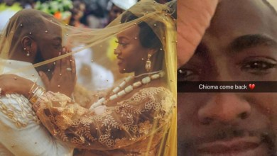 Photo of Chioma PLEASE COME BACK HOME: Davido Begs Chioma To Return (PHOTO)