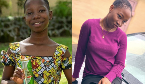 Emmanuella Is all grown Up and beautiful See Her Latest Picture.   Popular Nigerian child Comedienne, Emmanuella of the Mark Angel Comedy appears