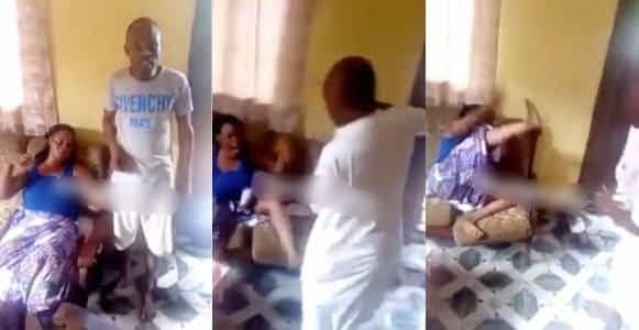 Woman Flogged By Her Brothers For Cheating On Her Husband (Watch Video).  A video has emerged of a lady being flogged by her own brothers over