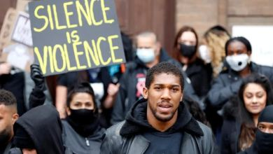 Photo of 11 Powerful Things Anthony Joshua Said at 'Black Lives Matter' Protest
