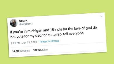 Photo of Michigan candidate's daughter urges people not to vote for him in viral tweet