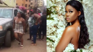Photo of Cee-C Escapes Death As Car Brakes Develops Fault On Motion