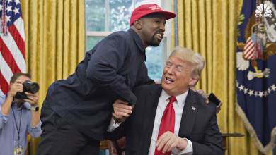 Photo of Trump: 'Shouldn't be hard' for Kanye West to take away votes from Biden