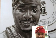 Photo of Sincerely? I don't like it- Lawmaker, Akin Alabi tells artist who drew a portrait of him and presented it to him on Twitter