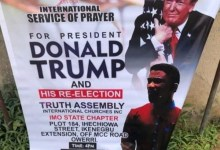 Photo of Imo pastor set to hold special prayer for Donald Trump's re-election