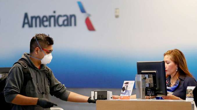 American Airlines will suspend flights to 15 US cities.