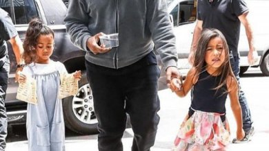 Photo of Kanye West, wife and kids embark on family vacation to salvage their marriage
