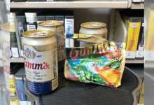 Photo of Hidden stash of beer, gum, discovered at Washington library after more than 30 years
