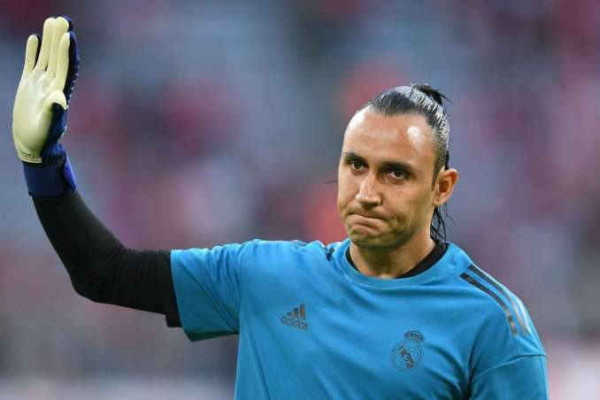 PSG goalkeeper Keylor Navas set to miss Champions League semi-final because of this.  Navas missed training due to a hamstring injury after he had to be substituted