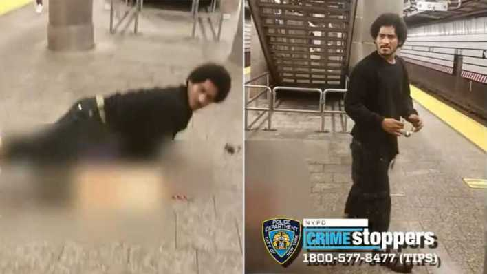 NYPD hunts rape suspect in subway footage