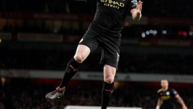 Photo of Kevin De Bruyne Nominated For The UEFA Men's Player Of The Year Award.