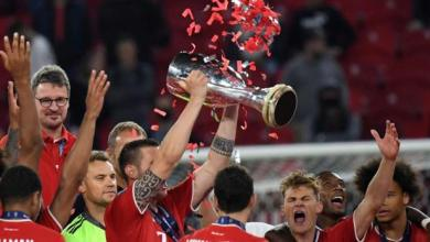 Photo of Martinez Header Hands Bayern UEFA Super Cup Victory.
