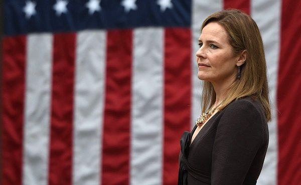 U.S. Supreme Court nominee urged to recuse herself from election-related cases.   Democrats are urging U.S. Supreme Court nominee Amy Coney Barrett to recuse