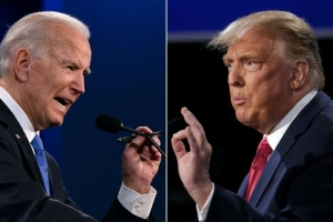 Ratings drop to 55M for final Trump-Biden debate.  More than 55 million viewers tuned in for the second and final presidential debate between President Trump