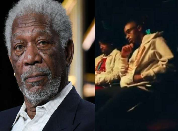 """Morgan Freeman revealed how he connected with 21 Savage and Metro Boomin to do the skits on """"Savage Mode 2."""" It came as quite a shock when Morgan Freeman's ushered the announcement"""