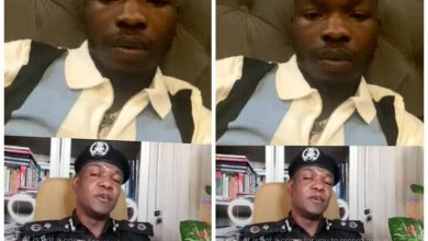 Photo of Police Spokesperson, Frank Mba says in Instalive chat with Naira Marley