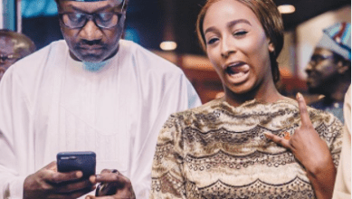 ''May God give you moral strength to not disobey your parents'- Femi Otedola jokingly prays for DJ Cuppy as she turns 28
