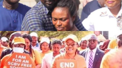 Benue First Lady leads walk against gender-based violence days after she and husband reconciled Pius Angbo and wife without making him face the consequences