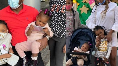 'Even though we fight, we will always make it work for our daughter'- Ubi Franklin's baby mama, Sandra Iheuwa, writes about their cordial relationship