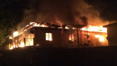 Fire renders residents homeless   The Nation