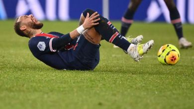 PSG Forward Neymar Has Escaped Serious Injury After A Tackle From Thiago Mendes