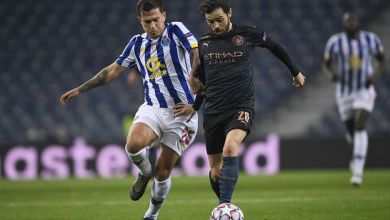 Manchester City and Porto played out an eventful 0-0 draw in Portugal.