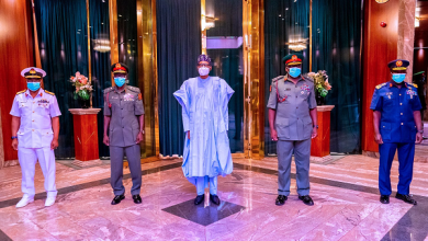 Inside PMB's first meeting with new Service Chiefs, by Femi Adesina