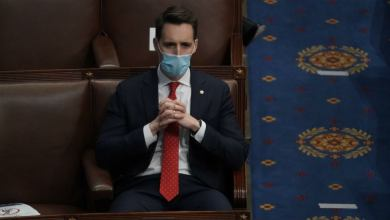 Kansas City paper says Hawley has blood on his hands