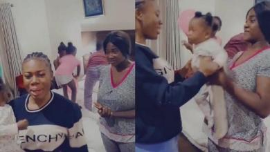 Mercy Johnson celebrates lookalike sister on her 21st birthday (Video)