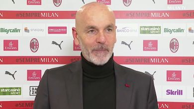 """Pioli reflects on defeat against Juventus: """"The result hurts, it is useless to deny it"""""""