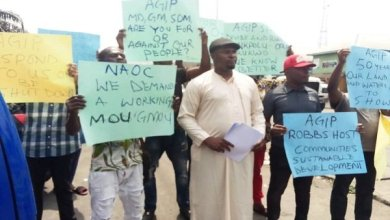 Rivers host community protests AGIP neglect