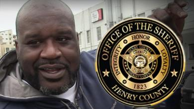 Shaq Hired By Sheriff's Office In GA, The Big Community Relations Director!