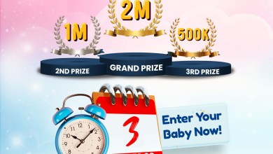 3 Days to Close of Entry for The Cussons Baby Moments Season 7 Competition? Enter your Baby Now!