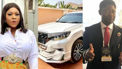 Destiny Etiko reacts to allegation that a billionaire businessman bought Toyota Land Cruiser for her