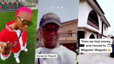 """""""I actually started from the bottom"""" – Blaqbonez thanks fans as he visits his old homes and shows off his new mansion (Photos/Video)"""