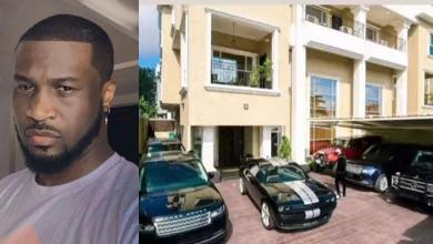 """I got 6 packs and 6 cars"" – Peter Okoye flaunts his 6 luxury cars (Video)"
