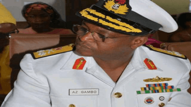 Naval chief warns personnel against criminality