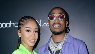 Quavo Counts Down To Valentine's Day With Surprise Roses For Saweetie