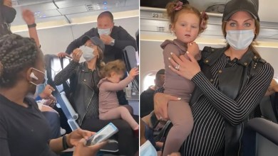Pregnant mom kicked off flight for 2-year-old not wearing mask
