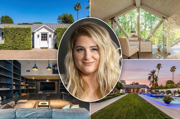 New mom Meghan Trainor lists Bing Crosby's old LA carriage house for $6M
