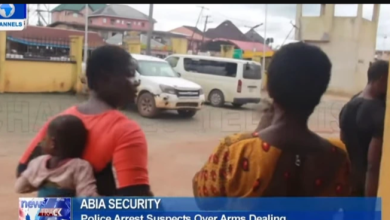 Police Arrests 2 Women For Supplying Guns & Bullets to Criminals in Abia State