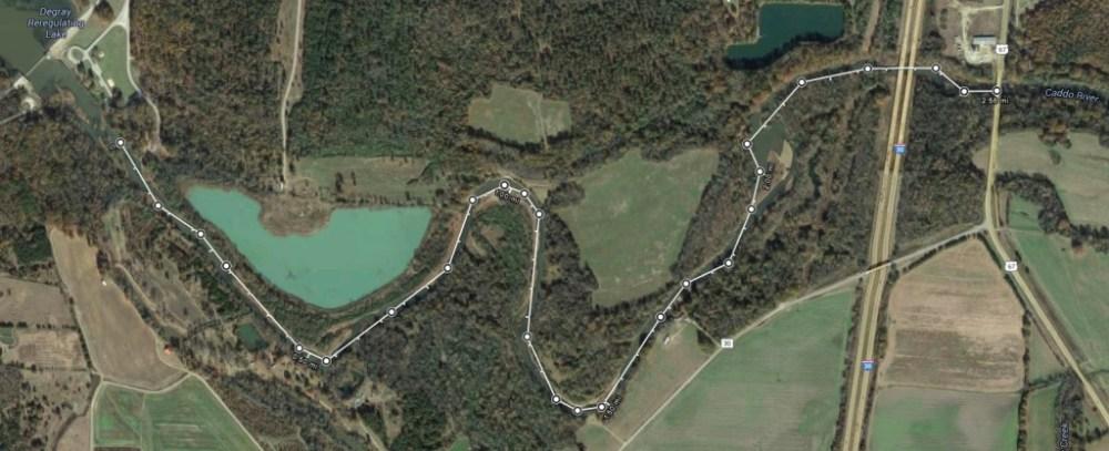 Caddo River Path