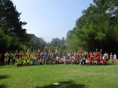 Campers-032- All Camp Color Wars Photo!